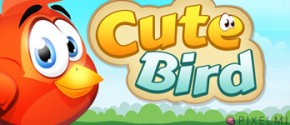 Cute Bird - A Flappy bird adventure