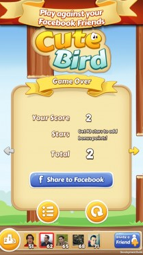 Cute Bird – A Flappy bird adventure | Pixelmind Games